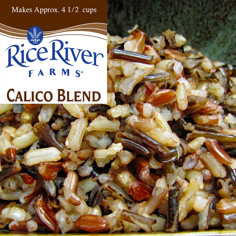 Calico Wild Rice Blend and Northwoods Blend