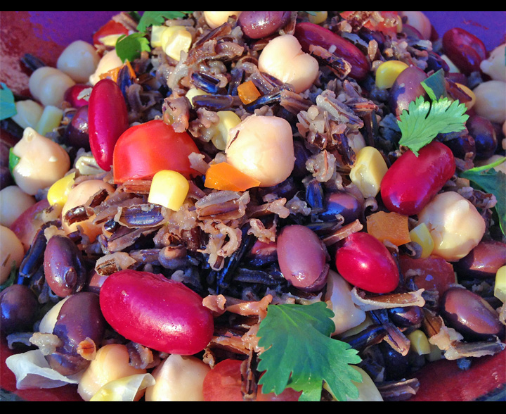 Wild Rice Salads.... perfect for holidays or spring menus!